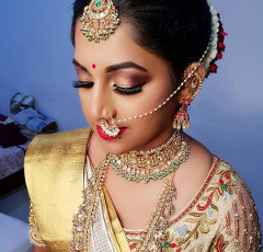 Wedding makeup artist in bangalore